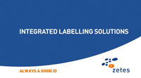 Zetes - Integrated Labelling Solution
